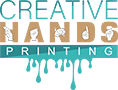 Creative Hands Printing Logo
